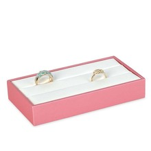 Jewelry Display Showcase Tray Box for Ring Jewellery Organizer Storage Stand Holder