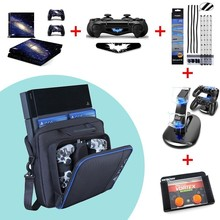 For PS4 Large Storage Travel Bag Carry Case Cover Carrying Protective For Sony Playstation PS4 Case Console Consola For PS4 Slim