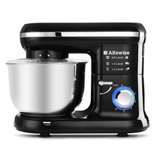 Alfawise SM001 Professional Electric Mixer 4.5L 6-speed Stand Mixer Commercial Blender Meat Grinder Dough Mixer Blender Machine(China)