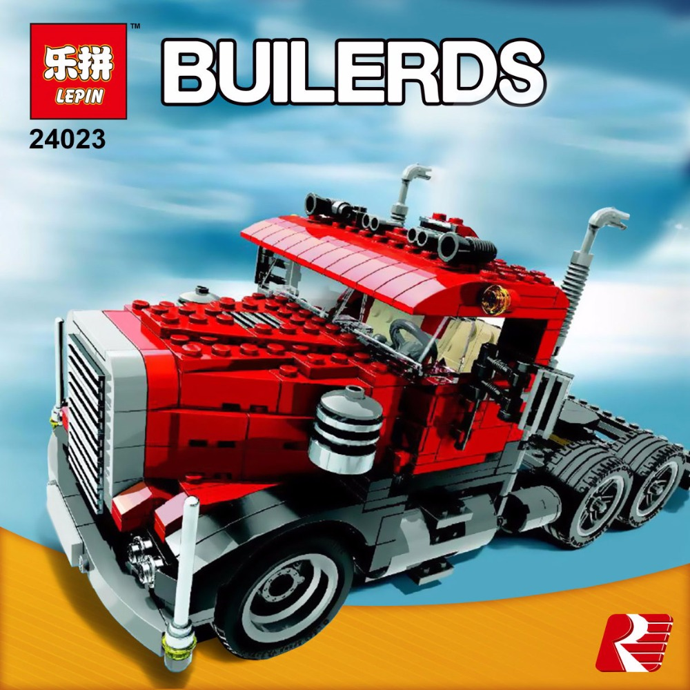 Lepin 24023 Creative Changing Series The Three in One Truck Set Children Educational Building Blocks Bricks Toys Model Gift 495<br><br>Aliexpress