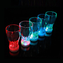 6pcs/lot Event  Party Supplies Flashing Light Cups Bar decoration Luminous Party Cup Led Light Cup For Beer Flashing Coke Cup