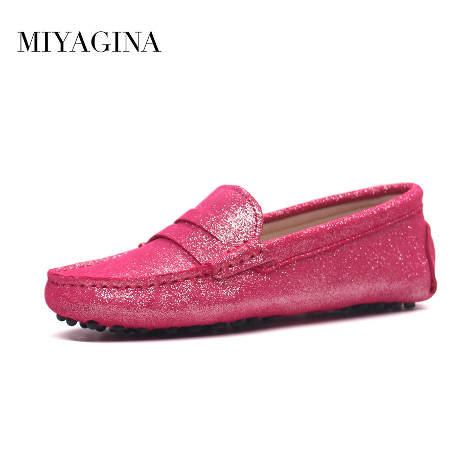 Hot Sale 100% Genuine Leather Women Shoes Spring Summer High Quality Flats Driving Shoes Brand Women loafers <br>