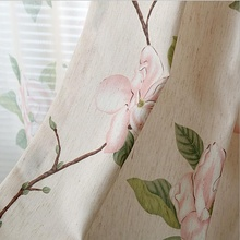 Chinese Curtains Kitchen Door Blackout Curtains Drapes Roman Blinds Fabrics Voile Tulles for Living Room Bedroom New Su242 *20(China)