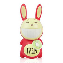 Cartoon Iven Rabbit Piggy Bank ATM Money Box Saving Coin Box Unique Toy Kids Decorative Gift Novelty Household Rabbit Moneybox(China)