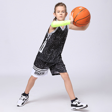 2017 Boys Basketball Jerseys Blank Custom Design Girls Space jam Jersey Youth Kids Basketball Uniforms Training Vest+Shorts Sets