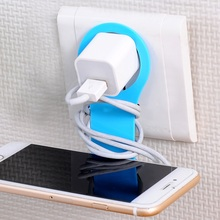 2Pcs Creative Folding Mobile Phone Rack Charging Stand Phone Stents Storage Holders Phone Seat Home Decor Fast Shipping