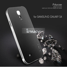 High quality original ipaky brand case for Samsung galaxy S4 silicone shell phone for galaxyS4 all color in stock(China)