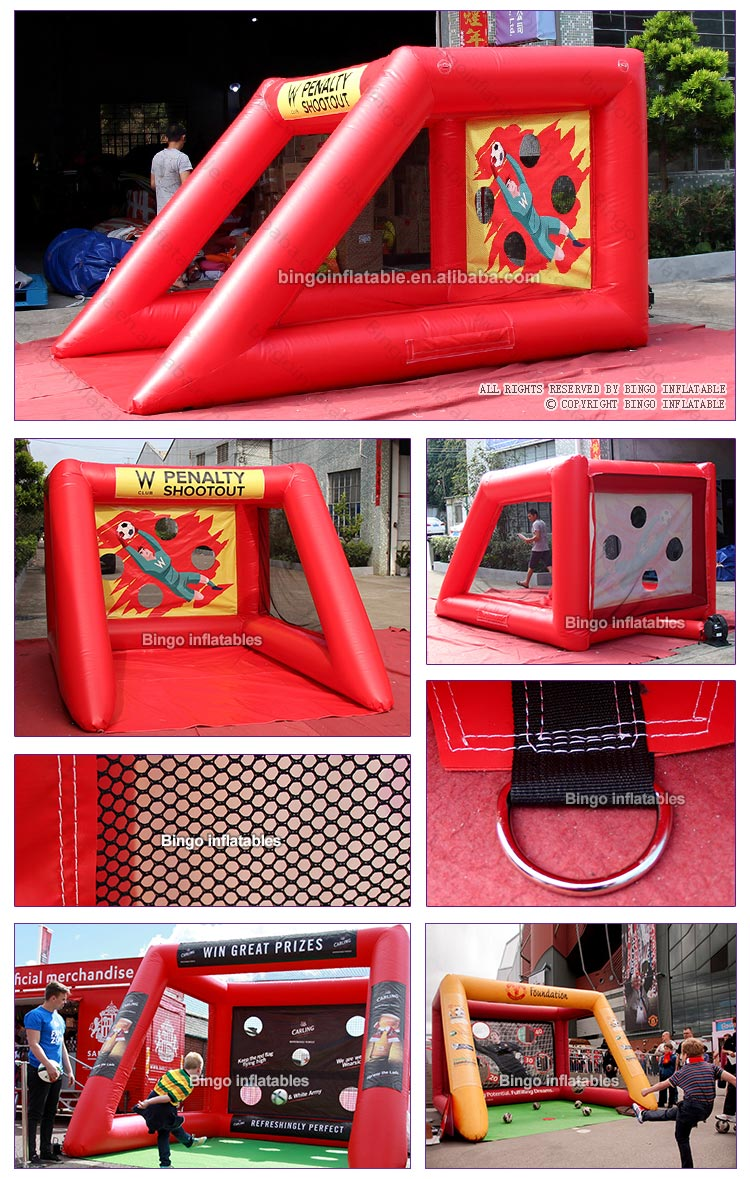 BG-Y0040-Inflatable red soccer goal kick_2