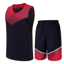 2017 Rew/White Men Basketball Jersey Sets Uniforms Breathable throwback basketball Loose Sport jerseys basketball Shorts Custom