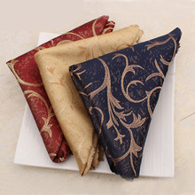 4pcs Fashion Dinner Serviette Hotel Table Napkin Folding Napkin Towel Home Cloth Vintage Napkin Coffee Towel Table Decoration