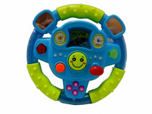 Early education steering wheel children's toys sound lights steering wheel toys parent-child learning toys