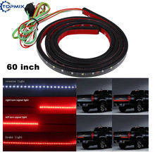 60 inch Red/White Flexible 5-Function Tailgate LED Strip Bar Brake Reverse Running Turn Signal Light for Pickup Car Truck SUV(China)