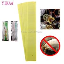 Pro Acaricide Fluvalinate Bee Mite Killing Beekeeping Pest Control Varroa Strip #S018Y# High Quality