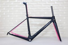 "SERAPH Full Carbon Road Racing Bicycle Frame Carbon Road Bike Frame carbon frame road bike 1-1/8""To1-1/2"" material T1000 frame"