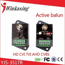 Up to 2400m single channel receive and transmit active video balun(China)