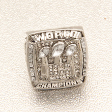 2007 New York giants super bowl championship ring  custom football ring  Eli Manning ring    Commemorative collection