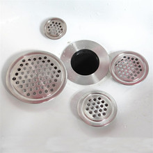 Washbasin sewer net sink filter strainers bathroom hair filtering stopper anti-leakage floor drain 1pc(China)
