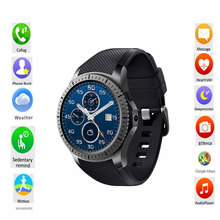 GW11D Bluetooth 1.3 inch Ultra Thin Screen Smart Watch Phone Support Nano SIM Card Wifi GPS Map Pedometer For Android OS(China)