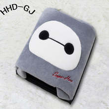 HHD-GJ Practical Cute Animal Cartoon Thick Plush Winter Heated Warm Mouse Pad Hand Warmer(China)