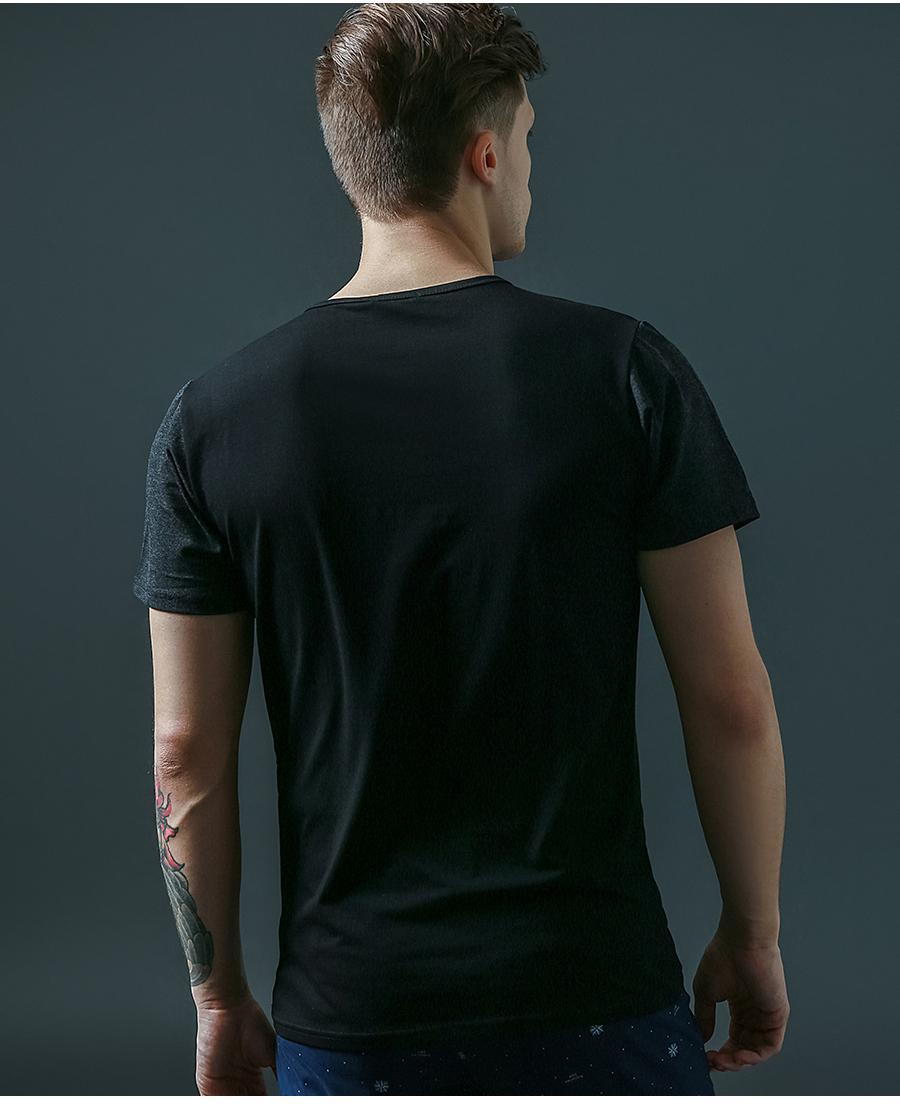 6 Designs Mens T Shirt Slim Fit Crew Neck T-shirt Men Short Sleeve Shirt Casual tshirt Tee Tops Mens Short Shirt Size M-5XL 10