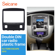 Hotsale!Double Din Car Radio Fascia for 2008 2009 2010 Ford Escape Stereo Interface CD Trim Panel Plate Frame