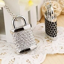 Real Capacity 8GB 16GB 32GB 64GB Lock Pen Drive Gift 512 GB USB Flash Drive 1TB 2TB Jewelry Memory Stick Card Pendrive Gift 2.0(China)