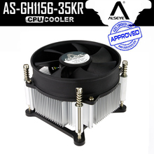 ALSEYE CPU Cooler Fan Radiator TDP 95W Aluminum Heatsink with 90mm 4pin PWM Fan 900-2400RPM for i3/i5/i7 LGA 1150/1151/1155/1156