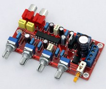 Free Shipping LM1036 tone board / preamp board (Volume, treble, bass) We are the manufacturer(China)