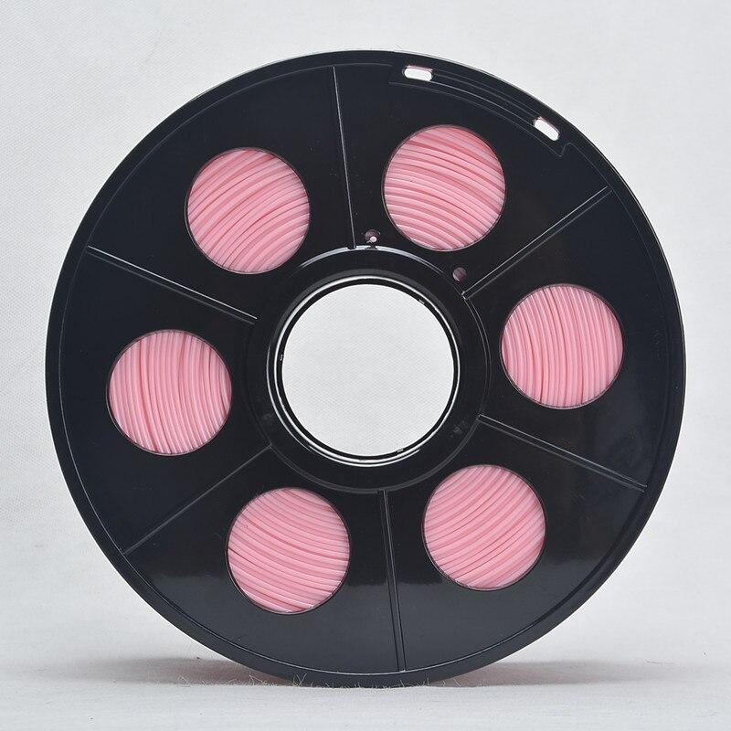 3D Printer PLA Plastic Filament 3mm Diameter 1kg Reel for wanhao 3D Printing Pink Color About 115m Tolerance 0.02mm<br><br>Aliexpress