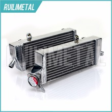 High Quality NEW Aluminium Cores MX Offroad motocross cooling Radiators for KTM SX-F EXC-F 250 350 450 14 15 2014 2015(China)