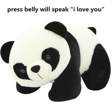 30cm 40cm Lovely Musical BAMBOO Panda Plush Toy Kids Soft Small Panda Toy Stuffed Animal Plush Doll Toys Best Birthday Gift