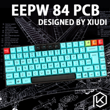 xd84 75% eepw84 Custom Mechanical Keyboard Supports TKG-TOOLS Underglow RGB PCB programmed kle Kimera core Lots of layouts(China)
