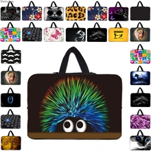 "Many Designs New Handle 10 12 13 10.1 11.6 14 15 17 15.4 15.6 17.3"" Laptop Notebook Computer PC Sleeve Bag Portable Cases Hot"