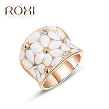 Buy ROXI Classic Flower Women Rings AAA Zircon Crystals Rose Gold Color Elegant Rings Women Engagement Wedding Fashion Jewelry for $2.34 in AliExpress store
