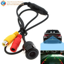 E301 High Definition Waterproof Small Vehicle Auto Car Rear view Camera Reverse Rearview Camera for Security Backup Parking