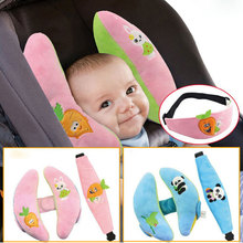 2pcs/Set Baby Cute Cartoon Banana Pillow And Eye Mask Girls Boys Infant Soft and Comfortable Stroller Car Safety Seat Pillow(China)