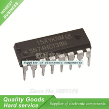 5PCS 74HC138N 74HC138 SN74HC138N IC 3-to-8 Line Inverting Decoder/Demultiplexer DIP-16 New Original Free Shipping