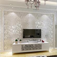 10 Meters  3D Modern Luxury European Acanthaceae Style Background  Wallpaper,Bedroom Sofa Tv Wall Paper Roll,papel de parede