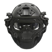 Emerson G4 System/Set PJ Helmet with Overall Protection Glass Face Mask Utility Tactical Helmet BD9197 For Hunting Shooting(China)