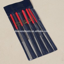 Free Shipping  5pcs/set  3*140mm 2set  Diamond coated  file set with Different Type for Grinding Carving Metal Glass Stone