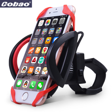 Anti-Slip Universal Bike Bicycle Handle Phone Mount Cradle Holder Cell Phone Support Case Motorcycle Handlebar For CellPhone GPS(China)