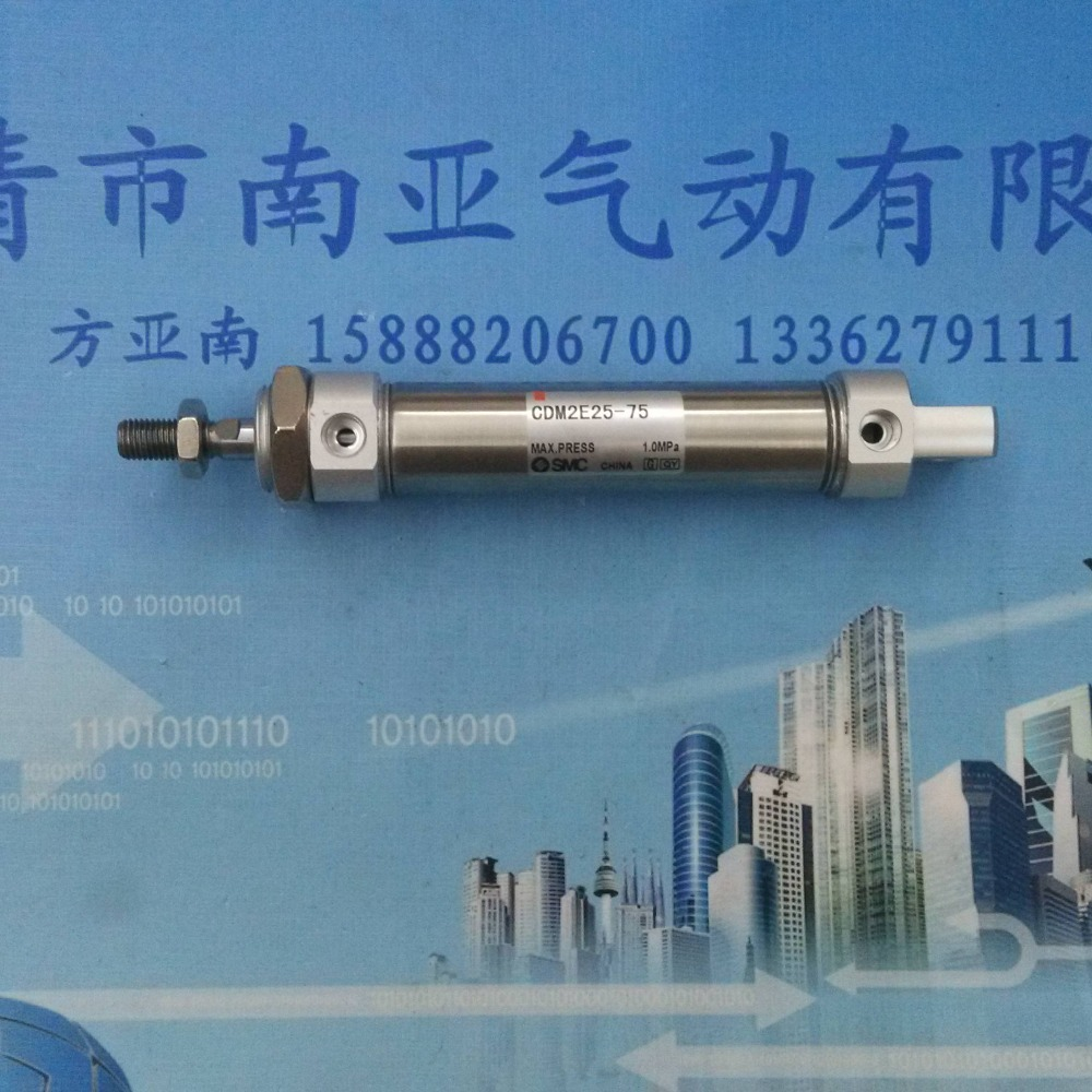 CDM2E25-75 SMC Stainless steel mini cylinder pneumatic air cylinder Stainless steel cylinders<br><br>Aliexpress