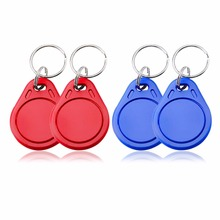 Waterproof 13.56MHz RFID IC Key Tags Keyfobs Token Intelligent Induction Lock Key Access Control Card Tag For Home Secure System(China)