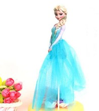 Elsa Princess Theme Party Supplies Cupcake Toppers Pick Kid Birthday Party Decorations