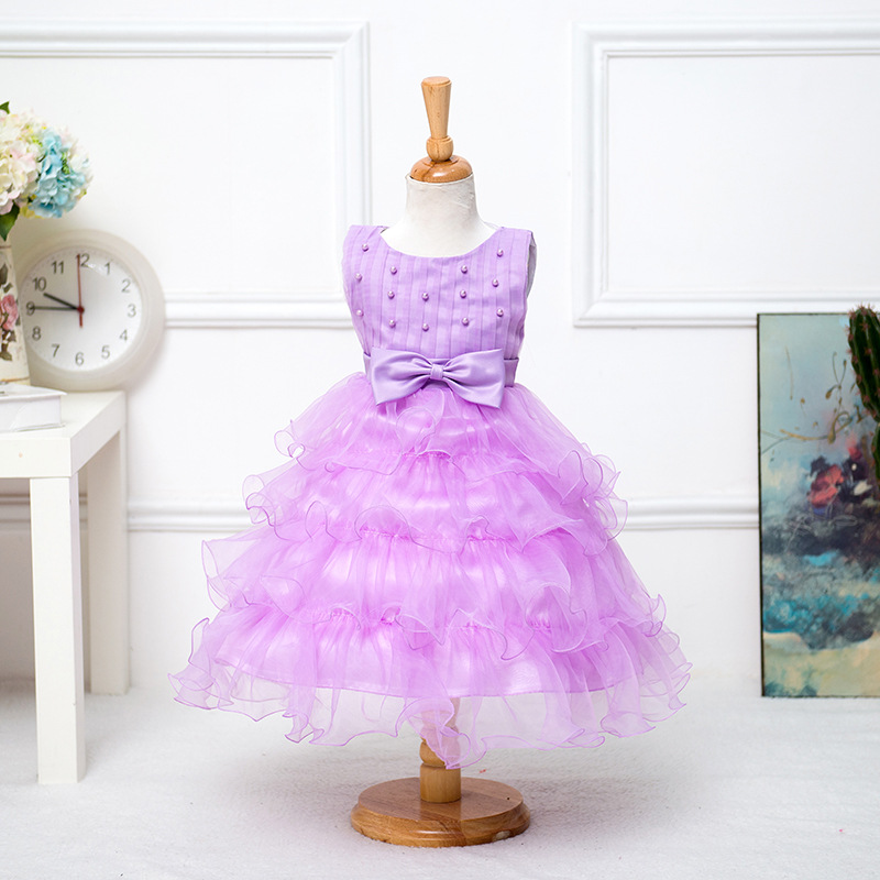 2 to 7Years Baby Girls Clothes Pink Tutu Dress Christmas Princess Dress Roupas Infantis Menina Sequined Dress Party Dresses<br>
