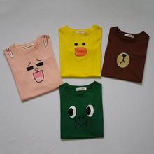 New babyKids boys Girls Tshirt Child Clothing Cartoon pattern Childrens Tops Summer Clothes Short Sleeve Tee blouse shirts R2-16(China)