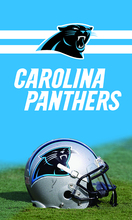 3FTX5FT Carolina Panthers flag Football helmet flag 100D polyester digital printed with 2 gromments(China)