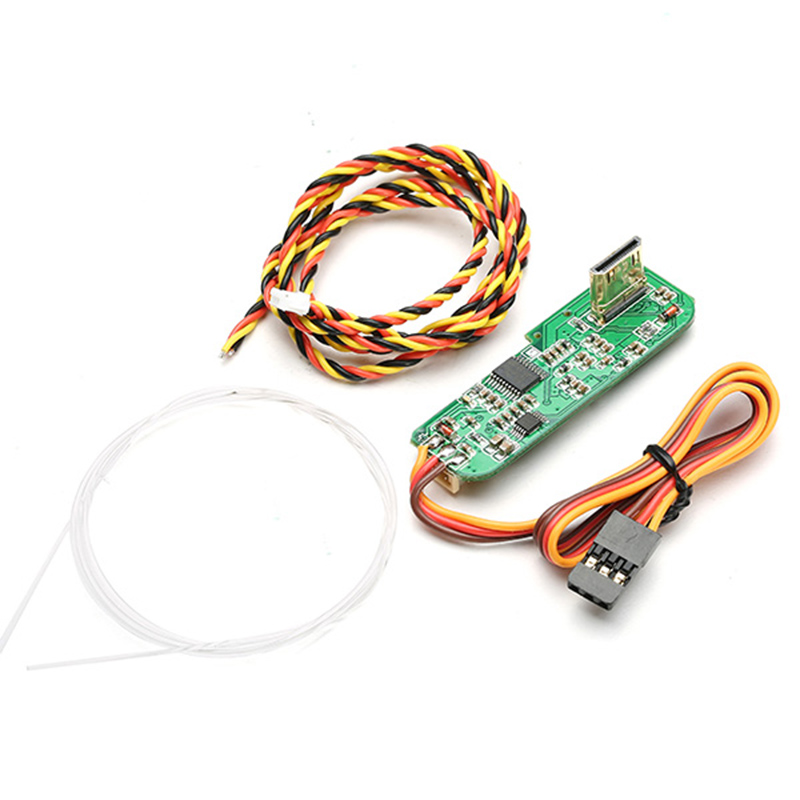 High Quality RCD3015G  to AV Converter V2  With IR Remote Triggering Converter Adapter Board Support Ground Remote FPV<br>