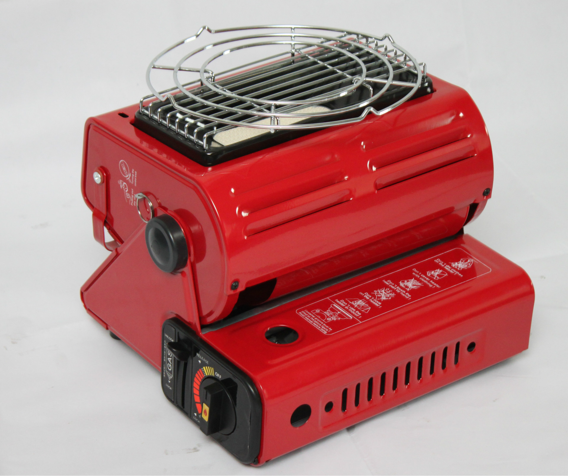 HIGH QUALITY NEW  PORTABLE GAS STOVE CAMPING COOKER HEATER RED