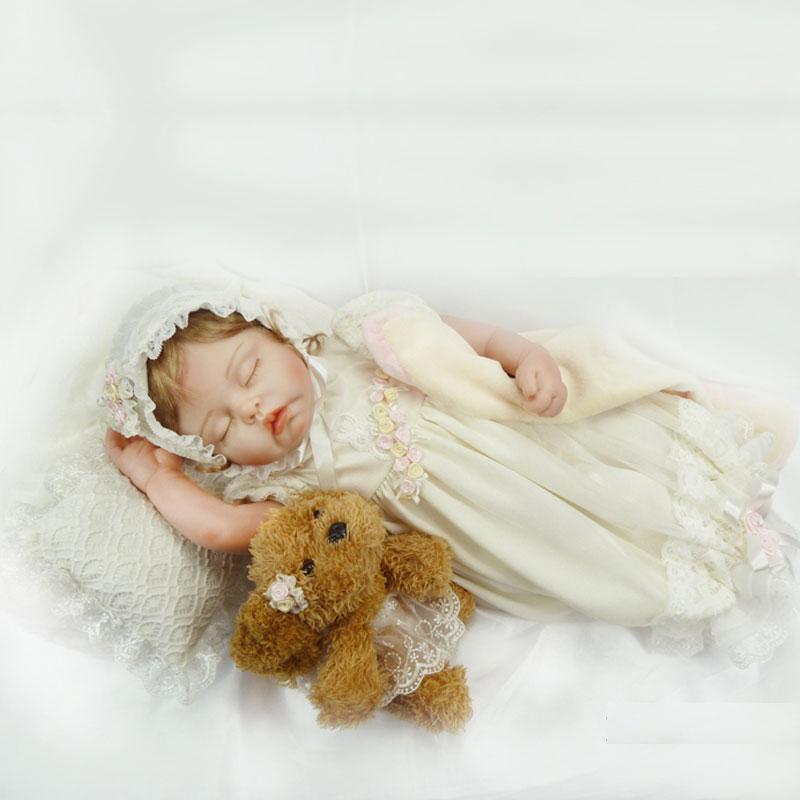 22inch Princess Reborn Doll 55cm Silicone Reborn Doll Toys Lifelike Realistic Newborn Baby Doll Juguetes Babies Toys Brinquedos<br><br>Aliexpress